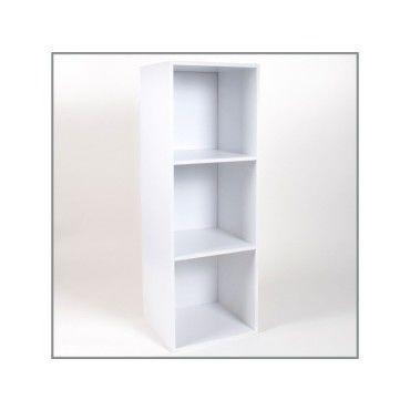 meuble 3 cases avec fond 32 x 30 x 94 cm