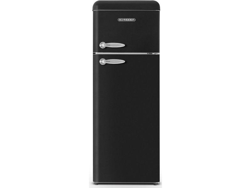 Réfrigérateur 2 portes schneider, scdd208vb