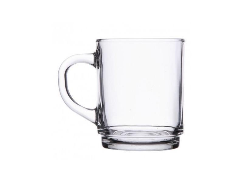 Verres à café empilables - arcoroc 250 ml - boite de 36 - 7,2 cm verre 25 cl