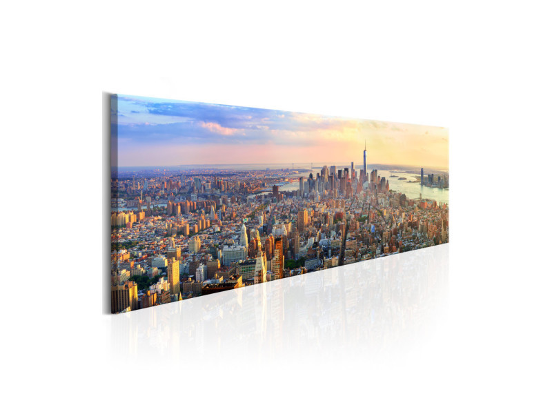 Tableau New York Panorama A1 N6199 Dk150 Vente De Artgeist Conforama