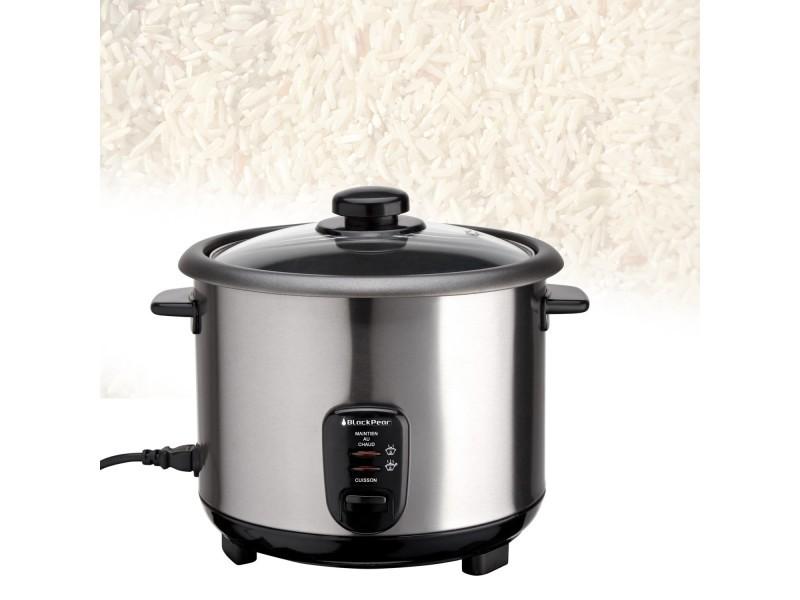 Cuiseur à riz inox 2.8 l puissance de 1000w
