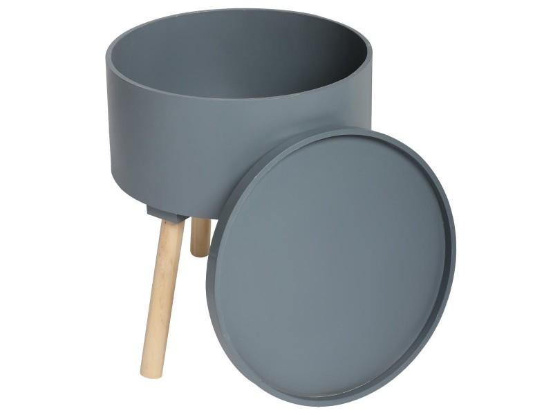 free en table basse coffre de rangement style scandinave. Black Bedroom Furniture Sets. Home Design Ideas