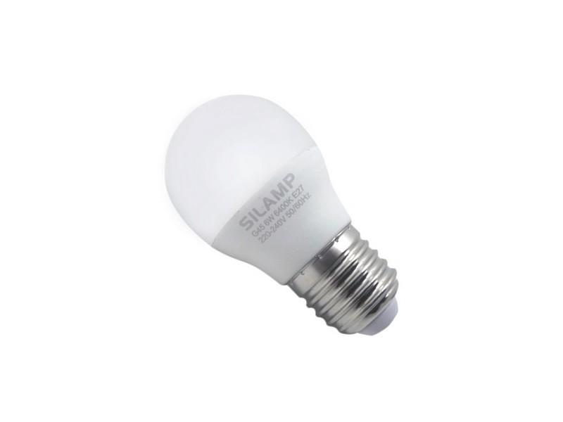 Ampoule e27 led 8w 220v g45 300° - blanc chaud 2300k - 3500k