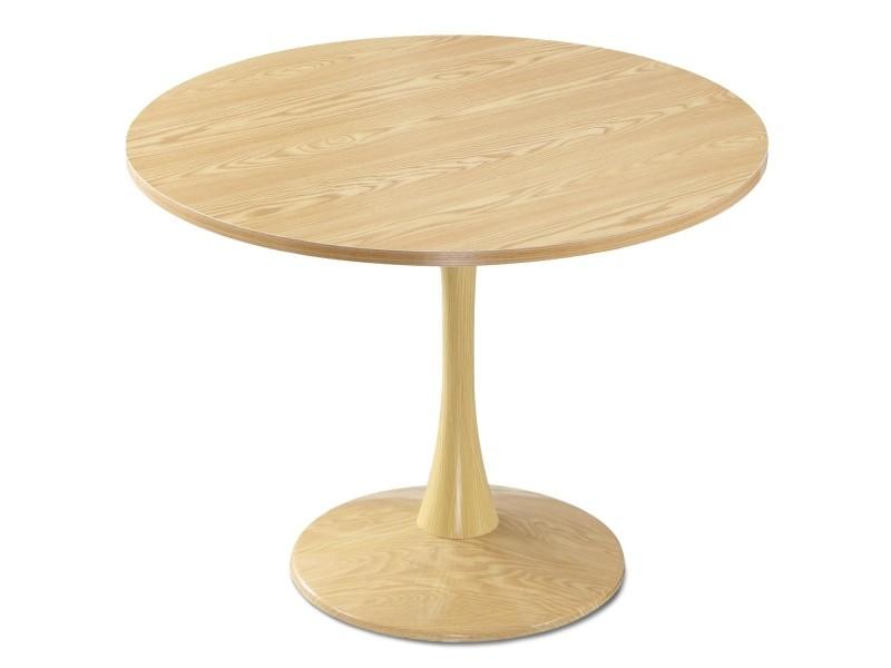 Table ronde necy chêne