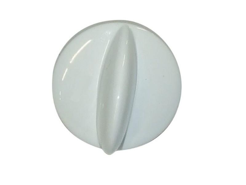 Bouton blanc bruleur pour cuisiniere faure