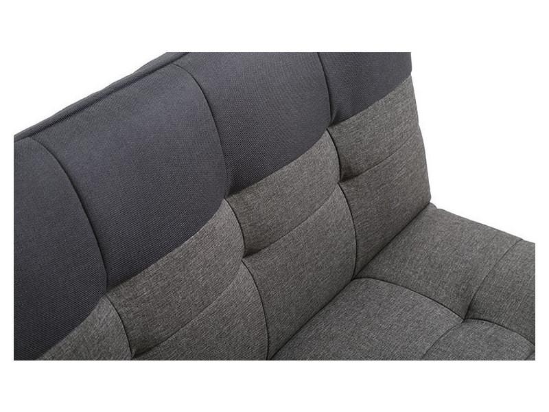 canap convertible design scandinave bicolore vente de canap droit conforama. Black Bedroom Furniture Sets. Home Design Ideas