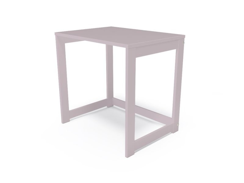 Bureau alban bois massif violet pastel BURALB-ViP