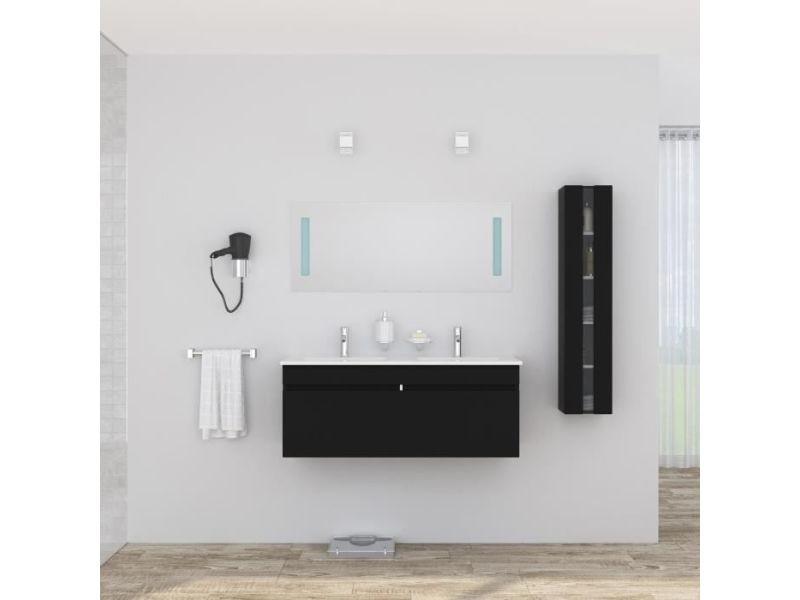 Salle de bain complete alban ensemble salle de bain double vasque ...