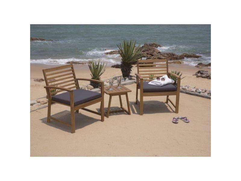 Salon de jardin - ensemble table chaise fauteuil de jardin - salon ...