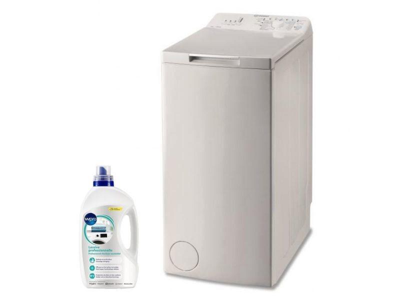 Lave-linge top 6kg 1000trs/min a+++ tambour 42l turn & wash machine à laver