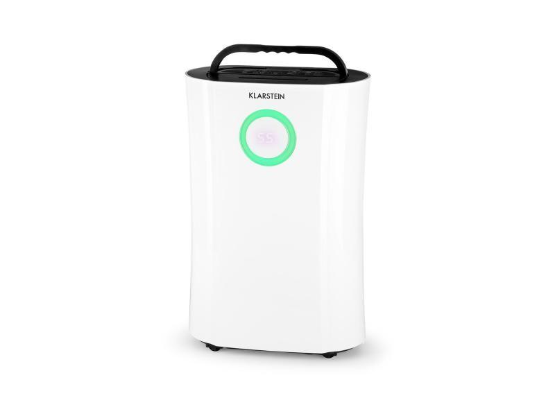 Klarstein dryfy pro déshumidificateur d'air - compression 20l/24h - puissance 370w - pour 20m² - blanc DXJ6-DryFy-Pro