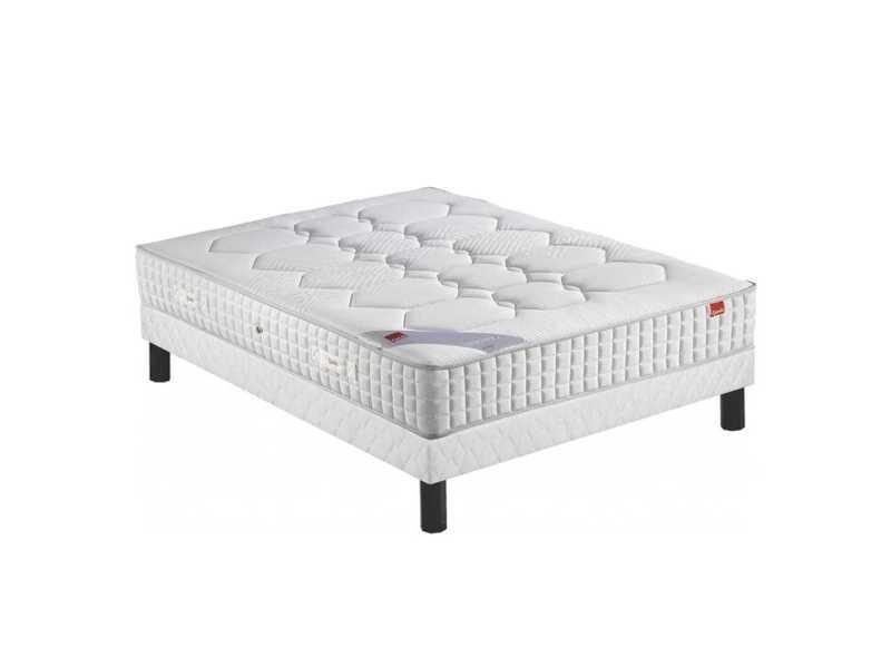 Ensemble epeda cambrure ressorts multi-actif confort ferme 160x200