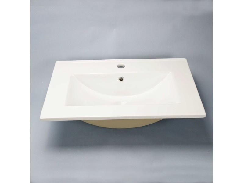 vasque encastrable c ramique 62x40 cm compact vente. Black Bedroom Furniture Sets. Home Design Ideas