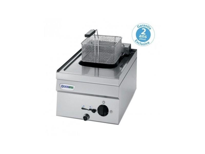 Friteuse électrique à poser - 8 litres - gamme 600 - triphasé - tecnoinox -
