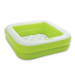 Piscine gonflable carrée - vert