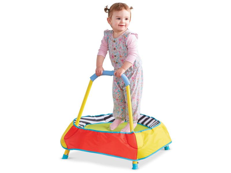Mini trampoline enfant et première âge WOR302KIA