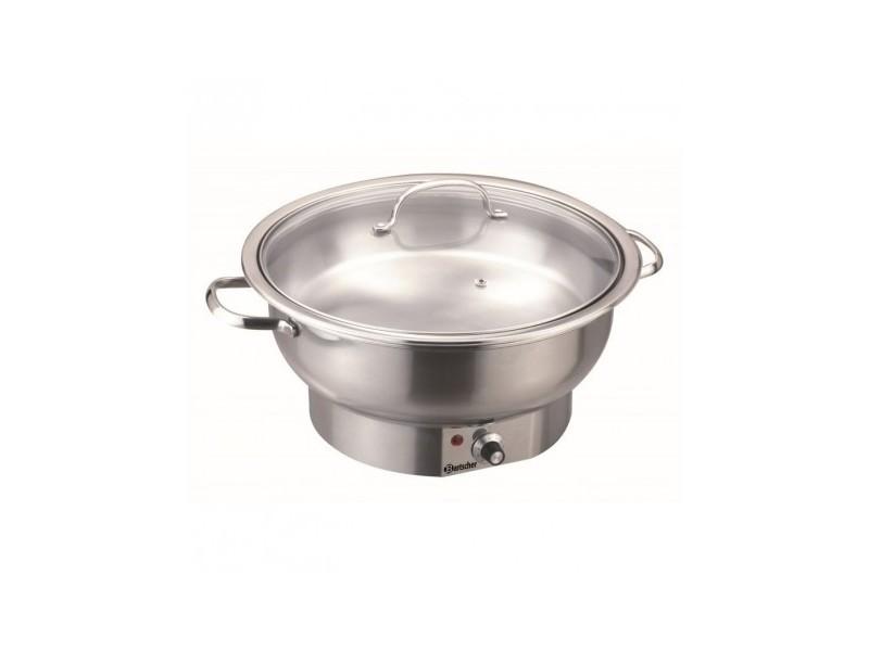 Chafing dish electrique rond, 3,8l - bartscher - 380 cl 330