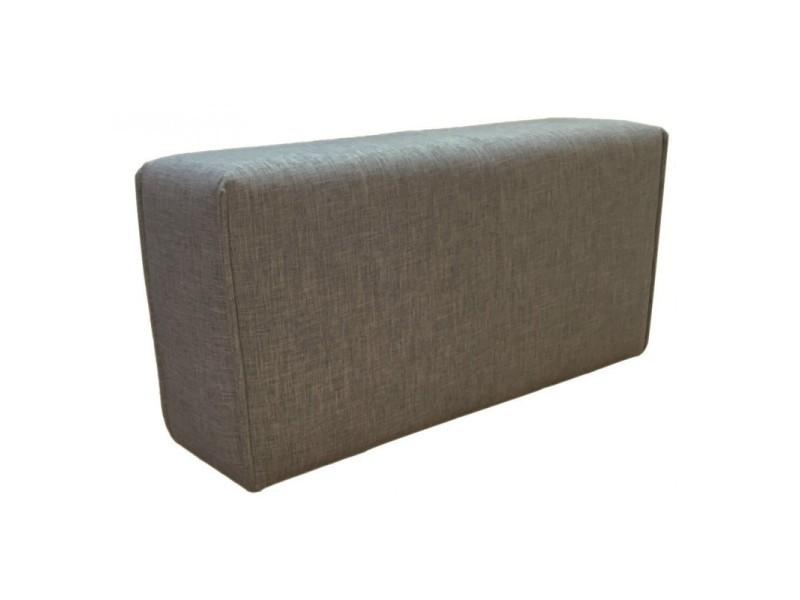 Module de canapé accoudoir gris anthracite - modulo