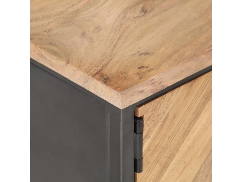 Vidaxl table basse 90x50x35 cm bois d'acacia massif 323526