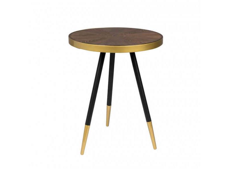 Denise s - table basse ronde art déco