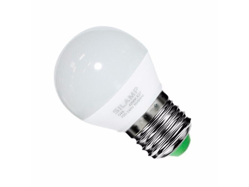 Ampoule e27 led 6w 220v g50 220° - blanc chaud 2300k - 3500k