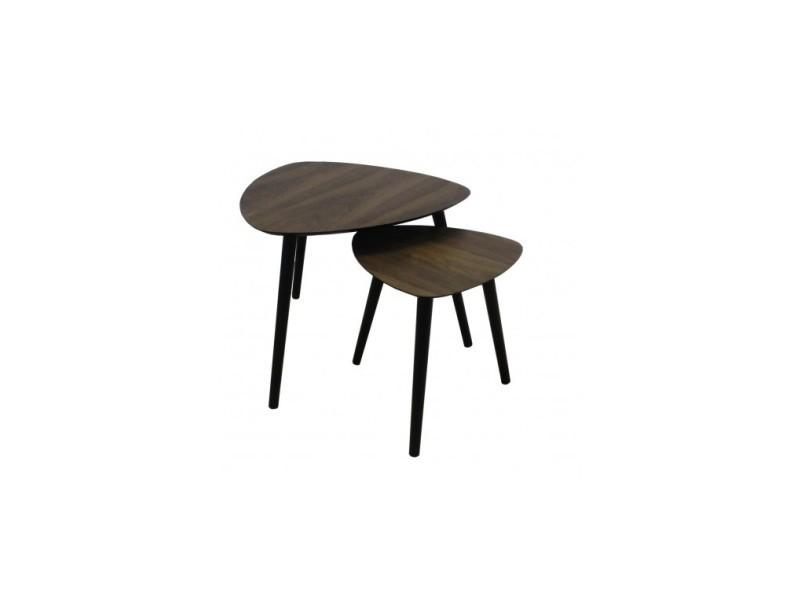 Set de table d'appoint plateau en bois alto