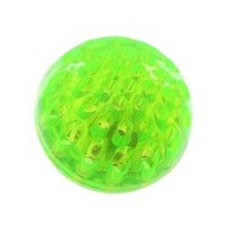 Balle led à presser fluorescente verte
