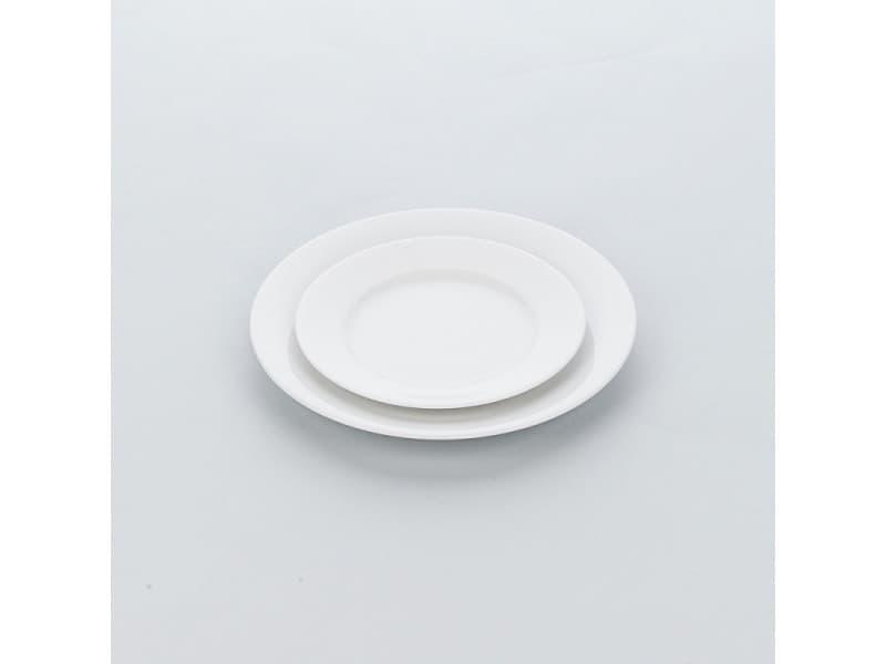 Assiette porcelaine ronde apulia ø 190 à 320 mm - lot de 6 - stalgast - 19 cm porcelaine 190 (ø) mm