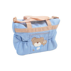 Sac de transport pour bébé king bear - little bear bleu