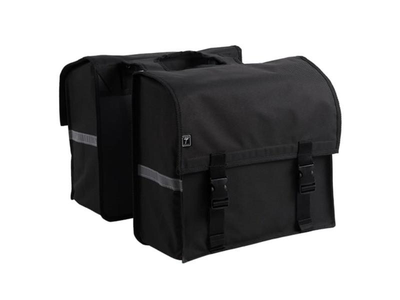 Icaverne - sacoches pour vélo gamme 7-series sacoche double 34 l noir
