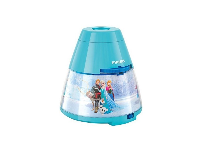 veilleuse projecteur reine des neiges disney lampe enfant conforama. Black Bedroom Furniture Sets. Home Design Ideas