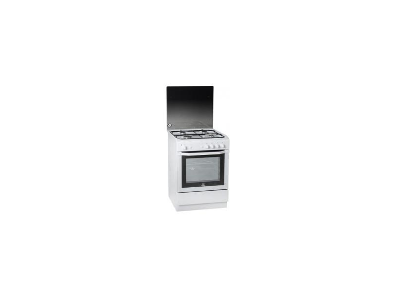 Cuisiniere tout gaz indesit i 6 ggc 2 gwfr