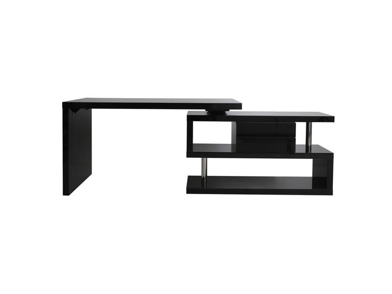 caisson de rangement 2 tiroirs noir laqu max vente de bureau composer conforama. Black Bedroom Furniture Sets. Home Design Ideas