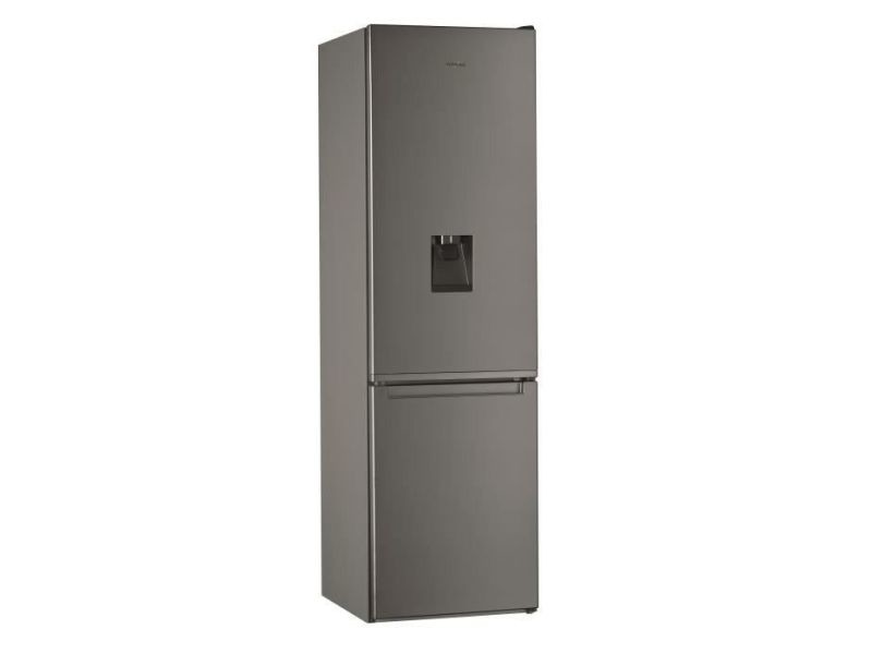 Réfrigérateur combiné 368l froid ventilé whirlpool 60cm a+, whi8003437902826 WHI8003437902826