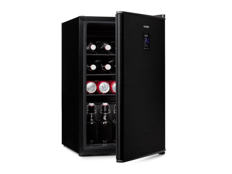 Klarstein beer baron mini réfrigérateur à boissons 68 litres - 39db - température réglable de 0 à 10 ° c - classe a+ - noir HEA13-BeerBaron 70