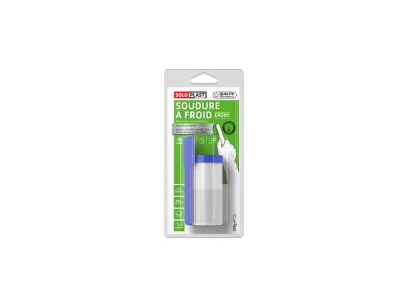 Réparateur universel soudure à froid epoxy soloplast 125g 135023