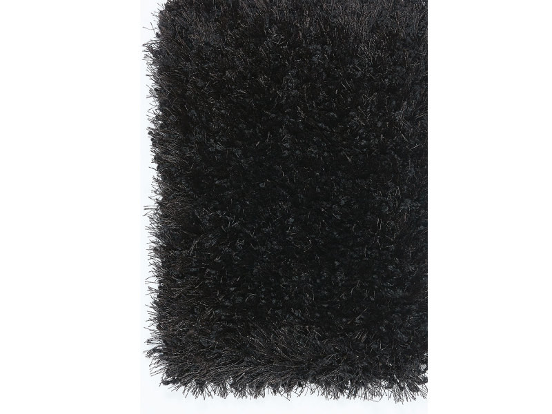 Tapis Grand Dimensions Supreme Shaggy Deluxe Noir 160 X 230 Cm