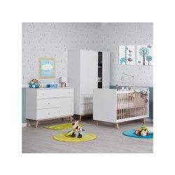 Chambre bébé complète blanche happy