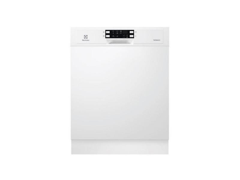 Lave-vaisselle 60cm 13c 44db a++ intégrable avec bandeau blanc - esi5543low esi5543low