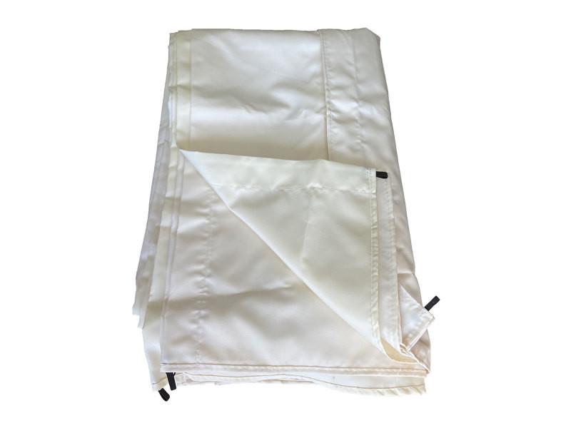 Toile pour pergola autoportante 3 × 4m cassis beige