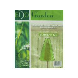Housse de protection waterproof verte pour parasol 29-47x173cm