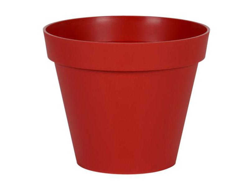 Eda pot rond toscane ø 40 cm - contenance 23 l - rouge rubis