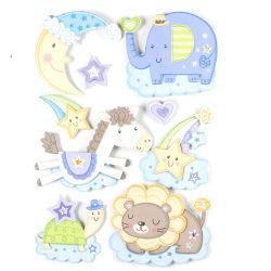 Sticker 3d rêve - 30 x 40 cm - lune