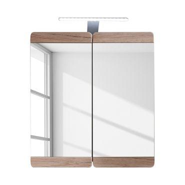 Armoire murale et miroir meuble salle de bain lxhxp 65 x 70 x 15 ...