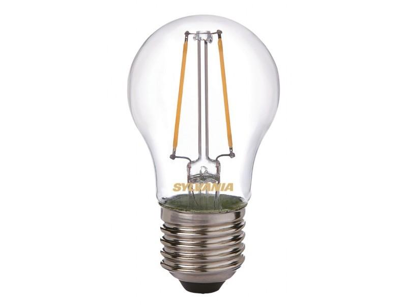 Sylvania ampoule led a filament toledo retro ball e27 2w équivalent 25w