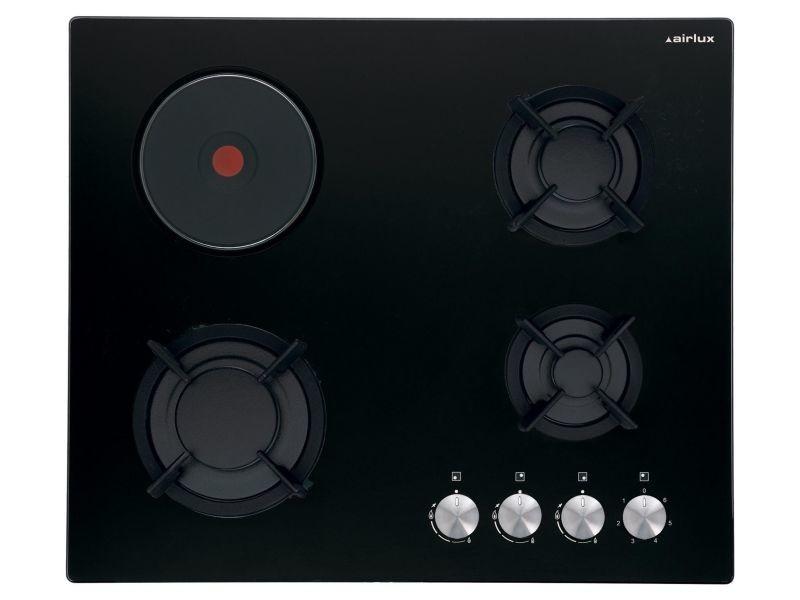 Table de cuisson mixte airlux av 647 hbk