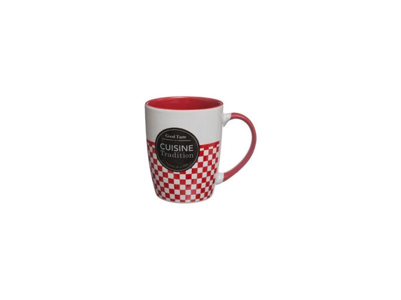 Mug cuisine traditionnelle - 33 cl - modèle aléatoire