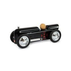 Petite voiture en métal thunder noire