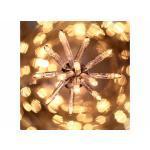 Guirlande noël intérieur 50 lucioles clignotante 2.50 m blanc