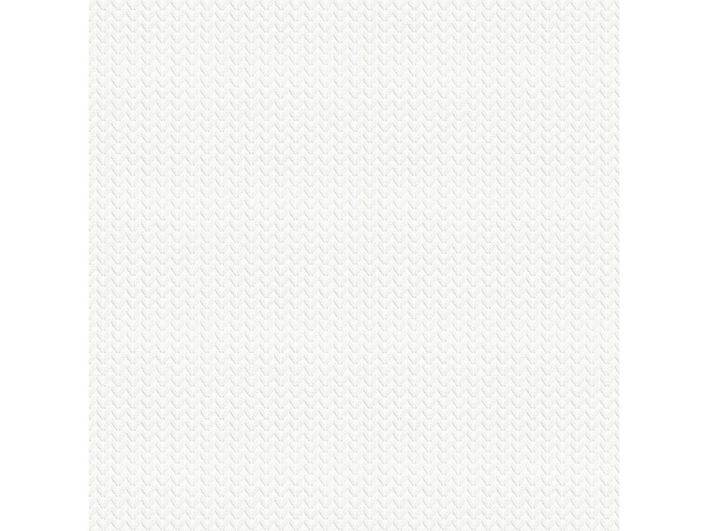 Papier peint intissé jersey 1000 x 53cm blanc 102967